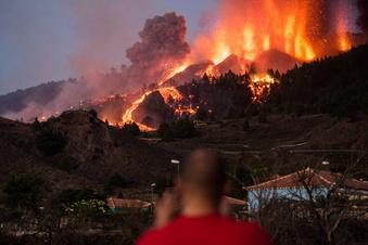 Vulkan auf den Kanaren ausgebrochen