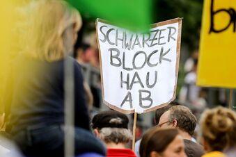 """Sachsen unterstützt Soko """"Schwarzer Block"""""""