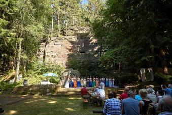 Theater um die Waldbühne in Leupoldishain