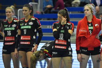 Volleyball hört auf, Handball mit Pause
