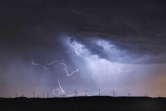 Nach Sturm drohen starke Gewitter in Sachsen