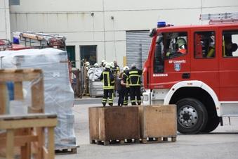 Feuerwehr rückt zu Brand in Döbeln aus