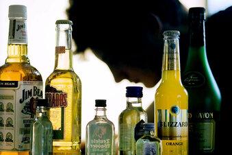 Ich teile meinen Freund mit dem Alkohol