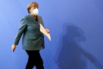 """Merkel sieht """"leichtes Licht"""" am Tunnelende"""