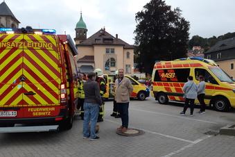 Kind bei Brandanschlag auf Sebnitz-Center verletzt