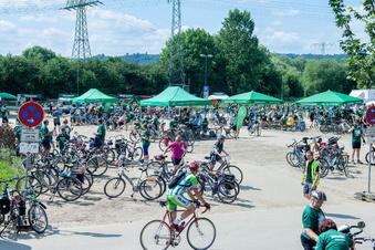 Durch Radebeul führen zwei Touren des SZ-Fahrradfestes