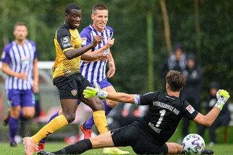 Dynamo gewinnt Geheimtest gegen Aue