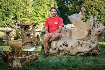 Gaußig: Zauberhafter Herbst im Schlosspark