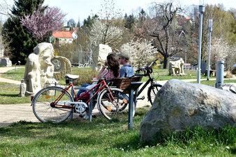 Skulpturenpark ist wieder Autowrack-frei