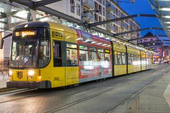 Sind Dresdens neue Straßenbahnen klimatisiert?