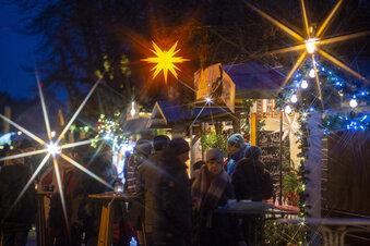 Radeberger Weihnachtsmarkt mit Überraschung