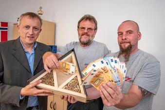 """Finanzspritze für den """"Zwischenstopp"""" in Bockelwitz"""