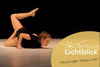Lichtblick hilft Künstlern - wie der Tänzerin Jana Schmück