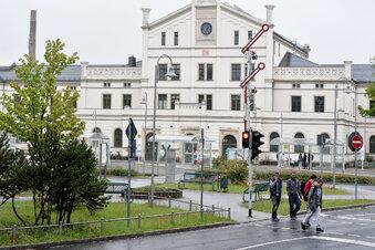 In Zittau fuhren 1960 täglich über 50 Züge ab