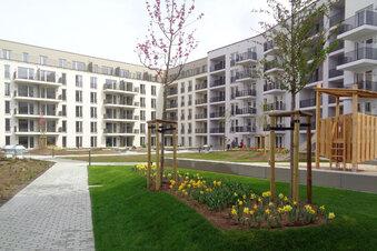 Neues Wohnquartier in Dresden fertig