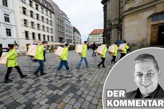 Dresdner Stollen im Frauenkirchen-Turm