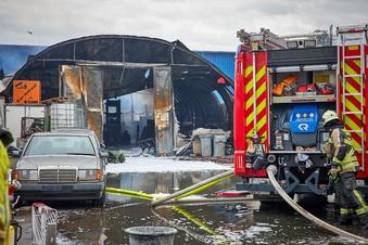 Heidenauer Großbrand vernichtet Existenz