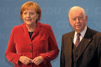 Merkel kommt zu Biedenkopfs Geburtstag