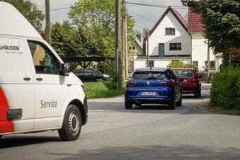Rammenau: Zu viele Autos auf der Dorfstraße