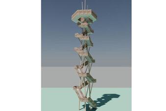 Rodigtturm-Bau beginnt