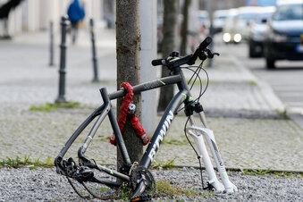 Nur in Sachsen mehr Fahrraddiebstähle