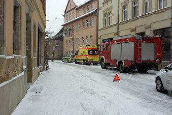 Rettungseinsatz in Sebnitz