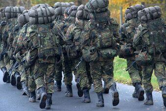 Bundeswehr übt in Skassa