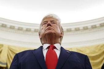Trump reizt China mit Hongkong-Gesetz