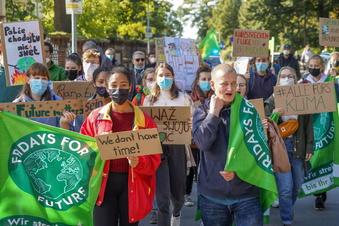 So lief der Klimaprotest in Bautzen