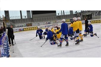 Eishockey-Zweitligist ist in die Saisonvorbereitung gestartet