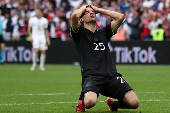 Deutsche Elf enttäuscht gegen England