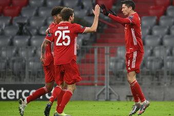 Bayern in Champions-League-K.-o-Runde