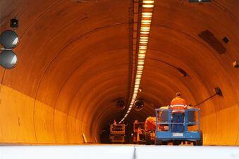 Für 37 Millionen Euro wird der Tunnel saniert