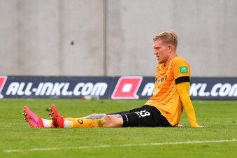 Dynamo bangt um seinen besten Stürmer