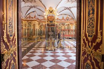 Historisches Grünes Gewölbe öffnet wieder
