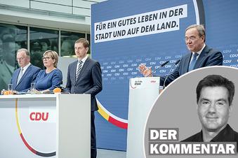 Erst in der Not entdeckt die CDU den Osten