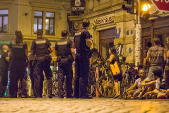Polizei erneut in Neustadt unterwegs