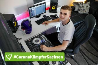 Wie ein junger DJ die Corona-Pause nutzt