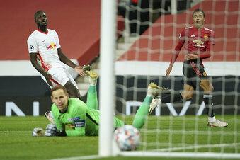 RB erlebt Debakel bei Manchester United