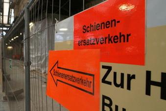 Busse statt Züge zwischen Schiebock und Radeberg