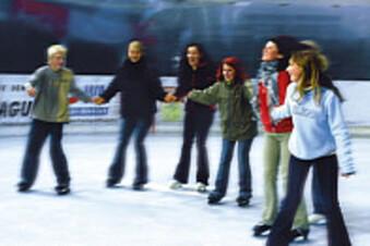Letzte Chance: Eislaufen in Jonsdorf