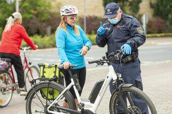Einsatz für die Fahrradfahnder