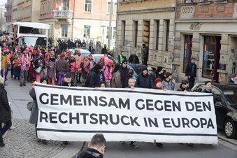 """Kaum Platz für rechten """"Trauermarsch"""""""