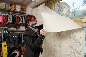 Weiße Schaufenster gegen Ladensterben
