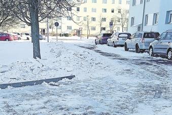 Mieter kritisieren Winterdienst im Wohngebiet