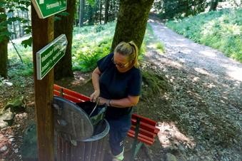 Werden alle Mülltonnen im Zittauer Gebirge abgebaut?