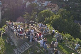 Spendenprojekt für die Burgruine in Wehlen