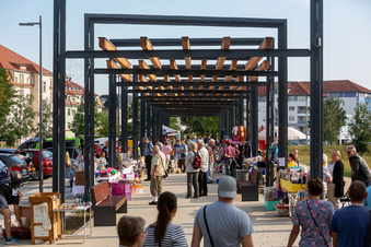 Kunstwerk für Freitals Neumarkt