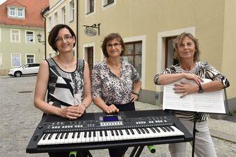 Musikschule auf der Straße