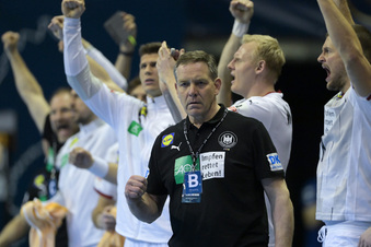 Deutsche Handballer vor nächstem Hammerspiel